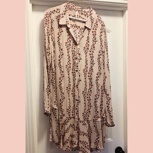 🌸Free People Soft Pink Floral dress 🌸